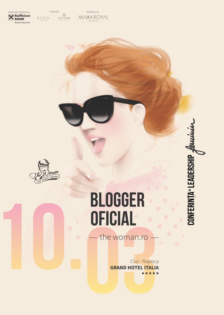 Blogger oficial The Woman 2016